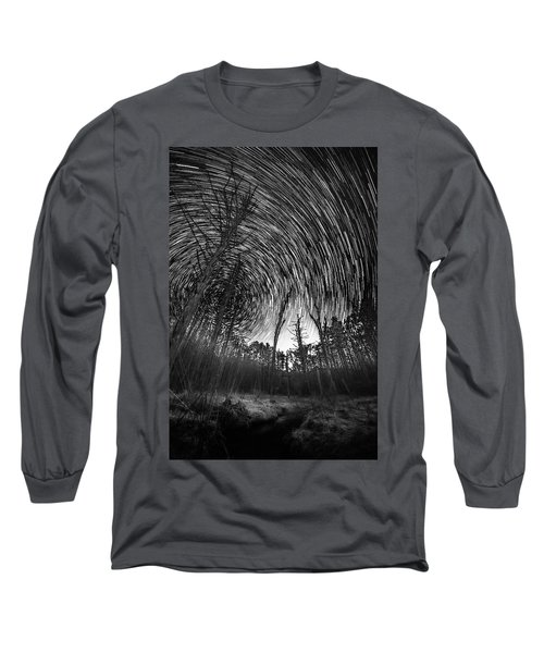 Star Trails - Blue Ridge Parkway Long Sleeve T-Shirt