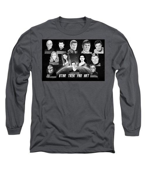 Star Trek Fan Art Long Sleeve T-Shirt