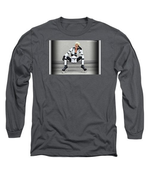 Star Wars By Knight 2000 Photography- Clone Trooper Long Sleeve T-Shirt by Laura Michelle Corbin