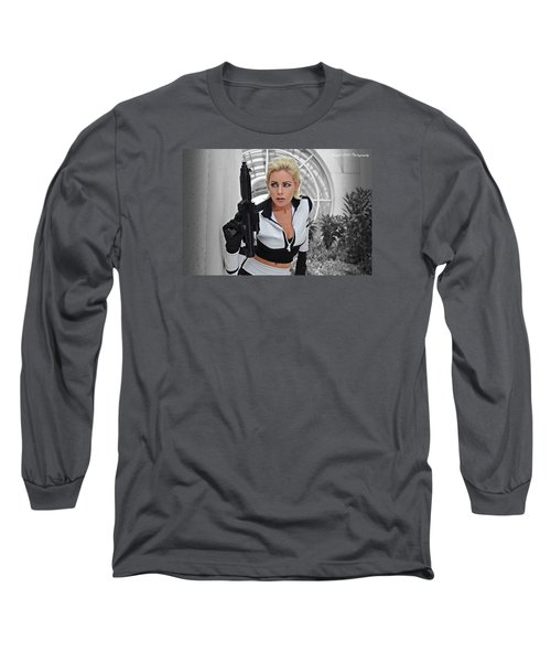 Star Wars By Knight 2000 Photography - Lookout Long Sleeve T-Shirt by Laura Michelle Corbin