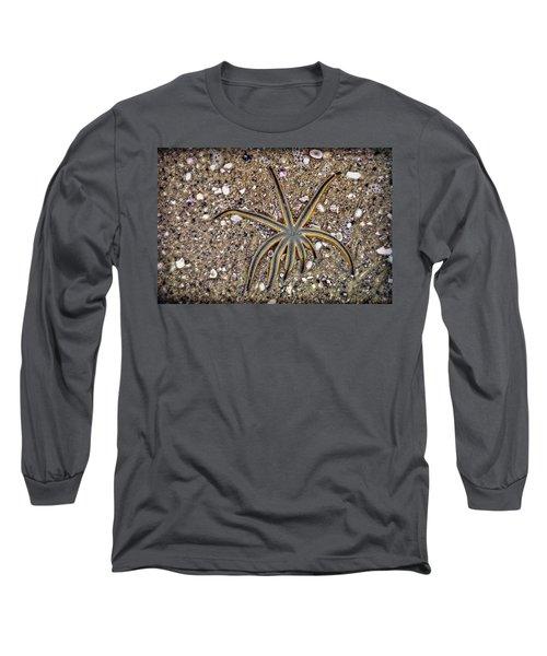 Starfish On The Beach Long Sleeve T-Shirt