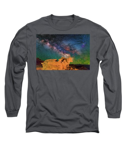 Stargazing Bull Long Sleeve T-Shirt