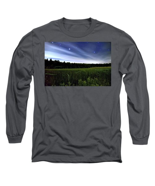Starlight And Fireflies Long Sleeve T-Shirt