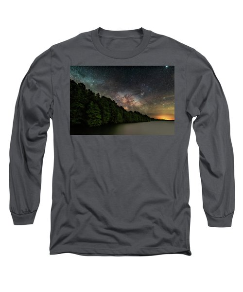 Starlight Swimming Long Sleeve T-Shirt