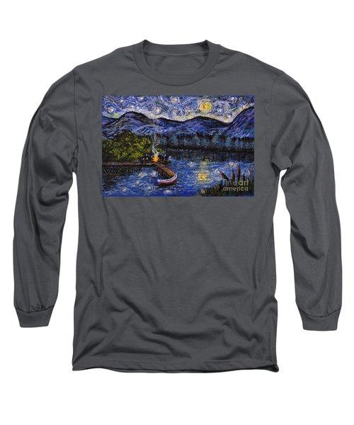 Starry Lake Long Sleeve T-Shirt