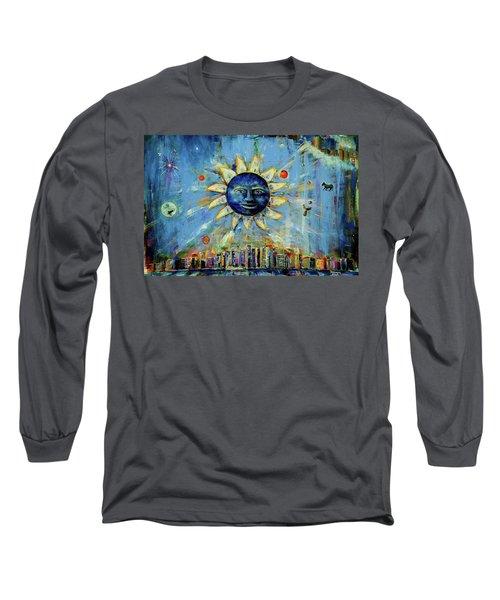 Starry Night 2017 Long Sleeve T-Shirt