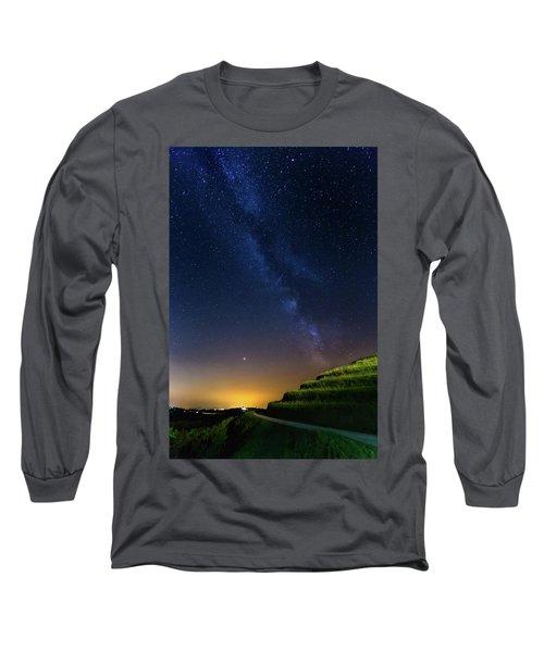 Starry Sky Above Me Long Sleeve T-Shirt