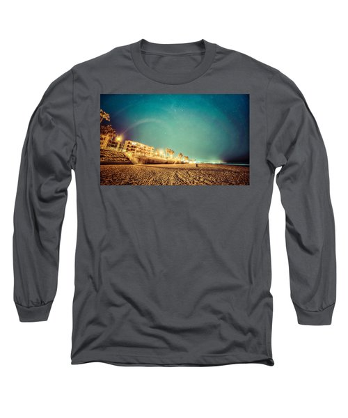 Starry Starry Pacific Beach Long Sleeve T-Shirt