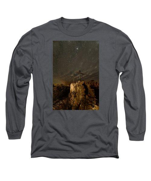 Stars And Crosses Long Sleeve T-Shirt