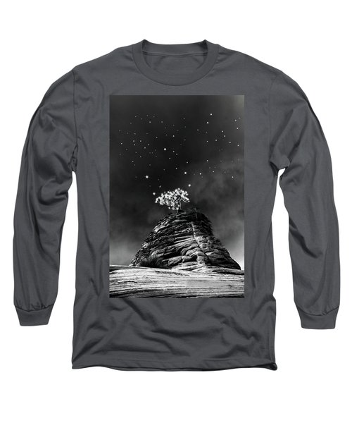Stars At Night Long Sleeve T-Shirt