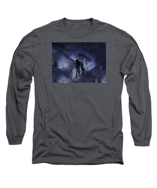 Stars Walking Long Sleeve T-Shirt