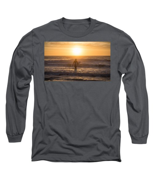 Start The Day Surfing Long Sleeve T-Shirt