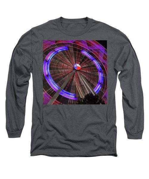 State Fair Of Texas Ferris Wheel Long Sleeve T-Shirt