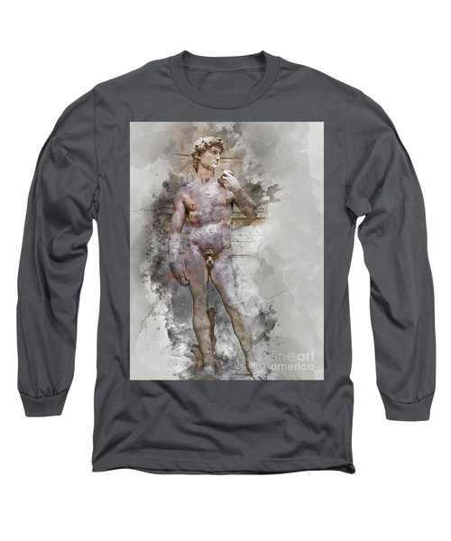 Statue Of David Long Sleeve T-Shirt