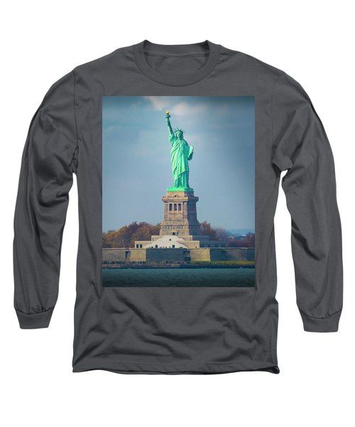 Statue Of Liberty 2 Long Sleeve T-Shirt