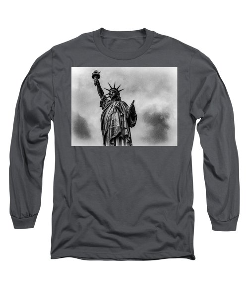 Statue Of Liberty Photograph Long Sleeve T-Shirt