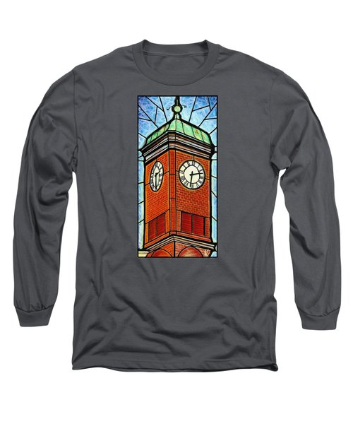 Staunton Clock Tower Landmark Long Sleeve T-Shirt