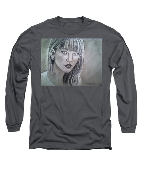 Stay Beautiful Long Sleeve T-Shirt by Maria Ferrante