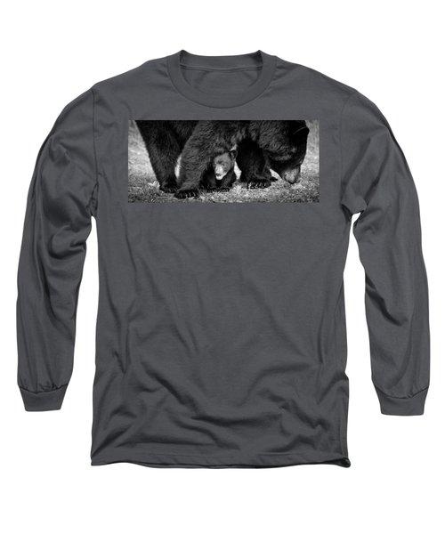 Staying Close-bw Long Sleeve T-Shirt