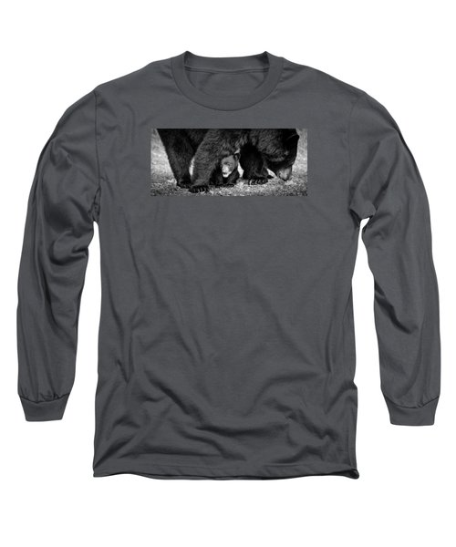 Staying Close-bw Long Sleeve T-Shirt