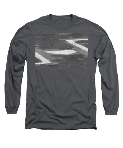 Stealing Home Long Sleeve T-Shirt by Laddie Halupa
