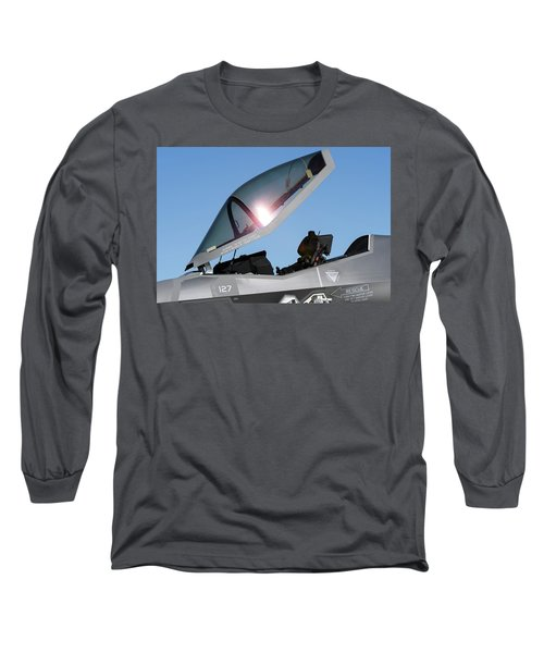 Stealth Office Long Sleeve T-Shirt