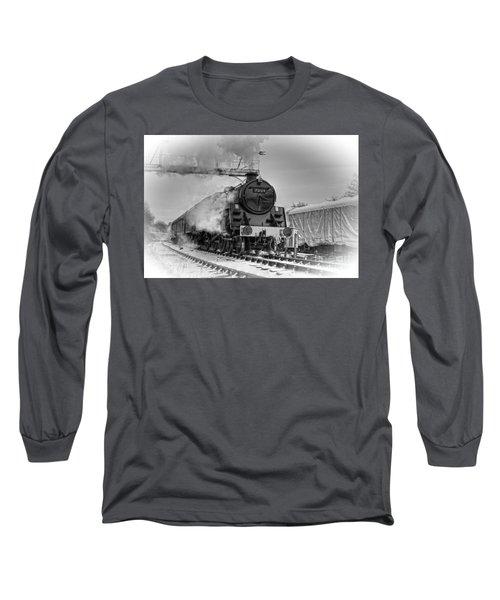 Steam Locomotive 73129 Long Sleeve T-Shirt