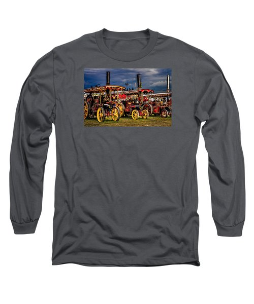 Long Sleeve T-Shirt featuring the photograph Steam Power by Chris Lord