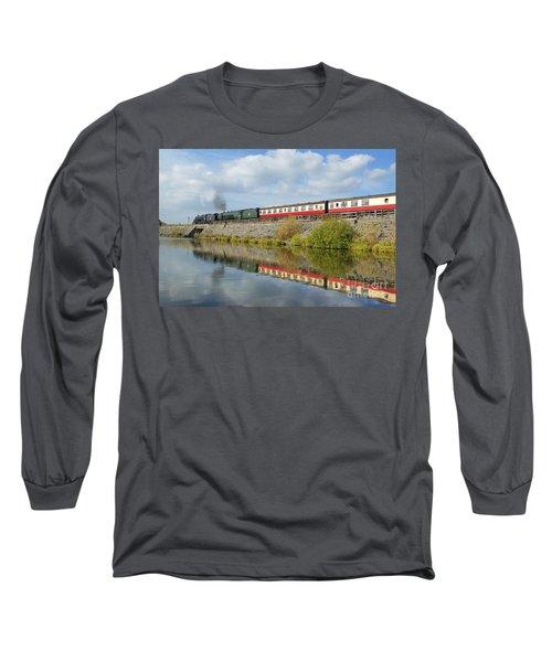 Steam Train Reflections Long Sleeve T-Shirt