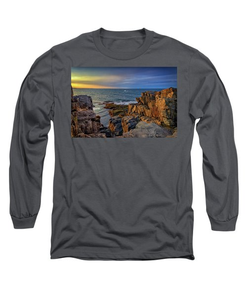 Steaming Past The Giant's Stairs Long Sleeve T-Shirt