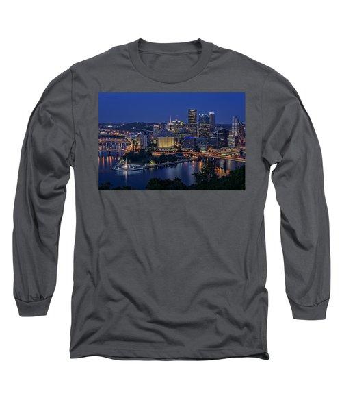 Steel City Glow Long Sleeve T-Shirt