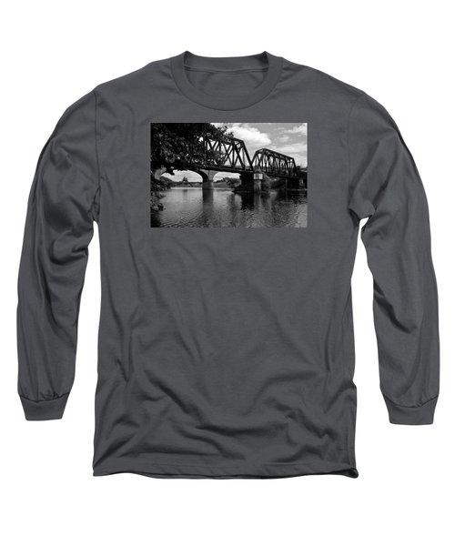 Steel City Long Sleeve T-Shirt by Michael Dorn