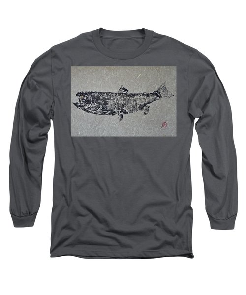Steelhead Salmon - Smoked Salmon Long Sleeve T-Shirt