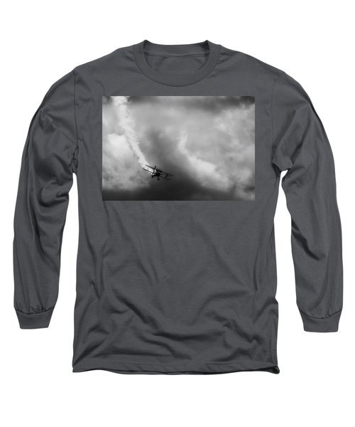 Steerman Long Sleeve T-Shirt by Michael Nowotny