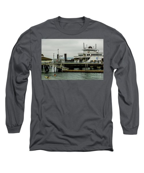 Steilacoom Ferry,washington State Long Sleeve T-Shirt