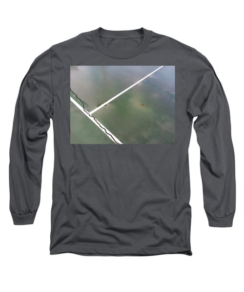 Long Sleeve T-Shirt featuring the photograph Step On A Crack... by Robert Knight