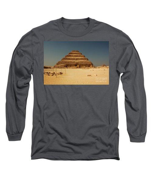 Step Pyramid 2 Long Sleeve T-Shirt