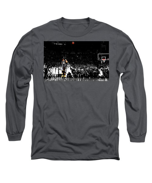 Steph Curry Its Good Long Sleeve T-Shirt by Brian Reaves