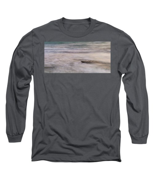 Long Sleeve T-Shirt featuring the photograph Stepping Stone by Alex Lapidus