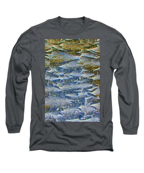 Long Sleeve T-Shirt featuring the photograph Stepping Stones by Lenore Senior