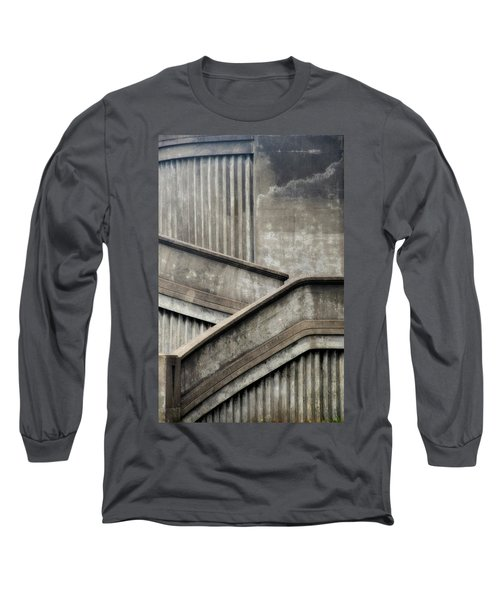 Steps Long Sleeve T-Shirt by Newel Hunter