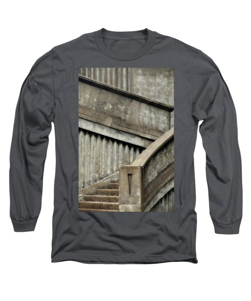 Steps Two Long Sleeve T-Shirt by Newel Hunter