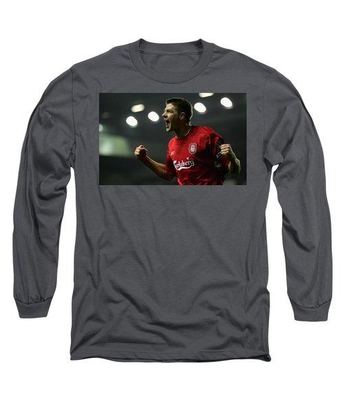 Steven Gerrard Long Sleeve T-Shirt