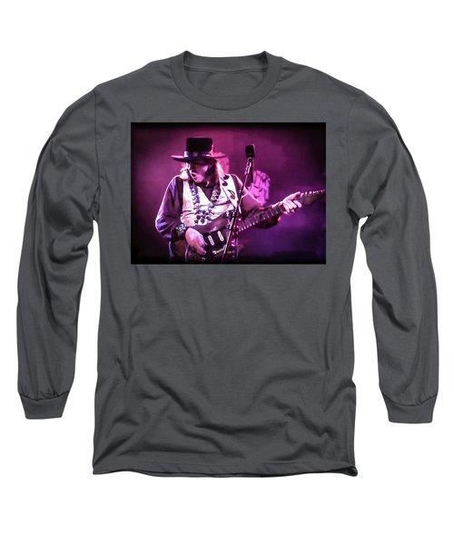 Stevie Ray Vaughan - Change It Long Sleeve T-Shirt