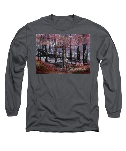 Long Sleeve T-Shirt featuring the painting Still Beauty by Lori  Lovetere