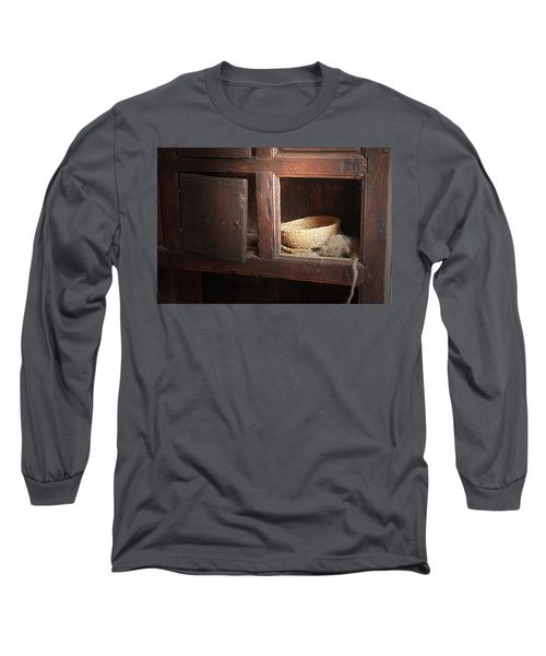 Long Sleeve T-Shirt featuring the photograph Still In The Past by Emanuel Tanjala
