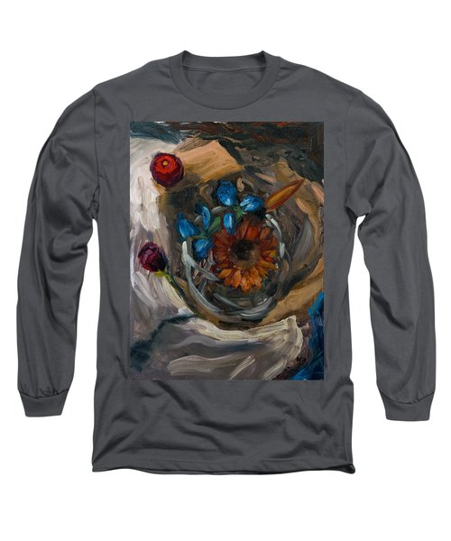 Still Life Abstract Long Sleeve T-Shirt