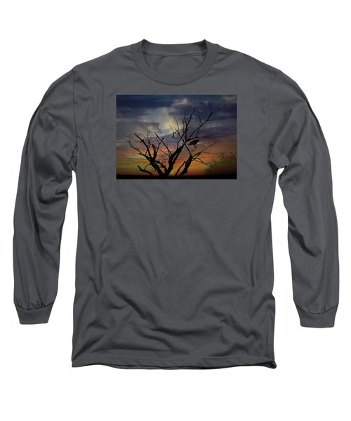 Still On My Mind Long Sleeve T-Shirt by Ellery Russell