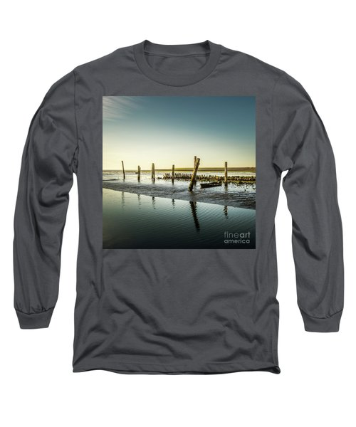 Long Sleeve T-Shirt featuring the photograph Still Standing by Hannes Cmarits