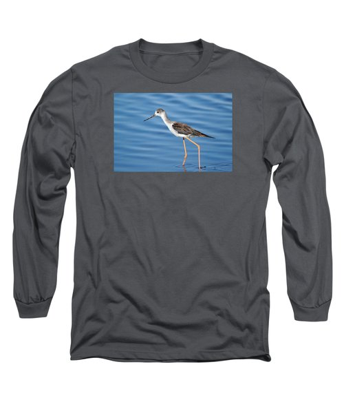 Long Sleeve T-Shirt featuring the photograph Stilt by Richard Patmore